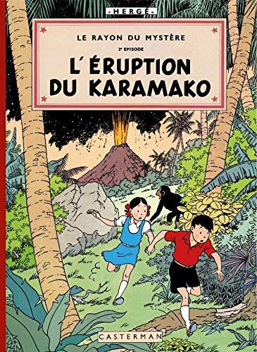 9782203022683: Les aventures de Jo, Zette et Jocko : Le rayon du mystère : Episode 2 : L'Eruption du Karamako