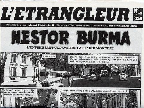 9782203024281: L'Etrangleur, N� 1, Juin 2009 : Nestor Burma : L'envahissant cadavre de la plaine Monceau