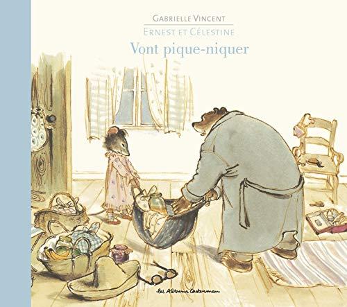 9782203024977: Ernest et Célestine : Vont pique-niquer