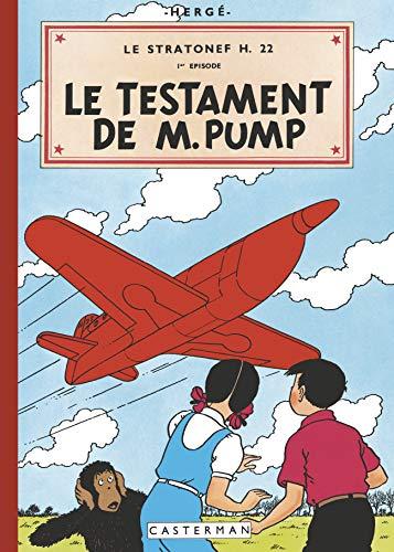 JO ET ZETTE FAC-SIMILE COULEURS T3 LE TESTAMENT DE M. PUMP: HERGE