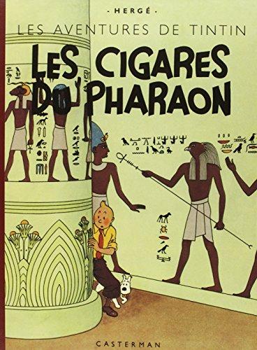 Les Cigares du Pharaon-Poster Herge-Les Aventures de Tintin