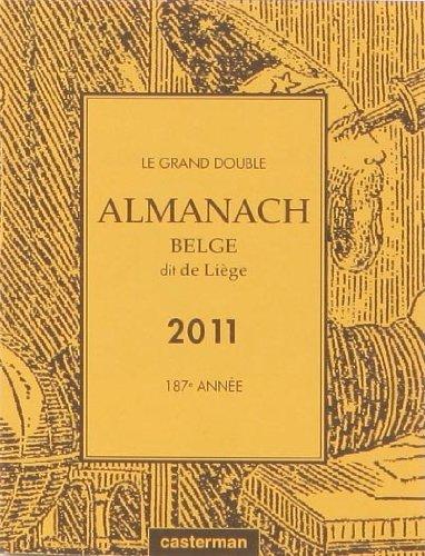 9782203029385: Almanach de li�ge 2011