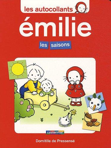 9782203029828: Les Autocollants D'Emilie/Les Saisons (French Edition)