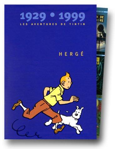 9782203031005: Les Aventures de Tintin 1929-1999, coffret