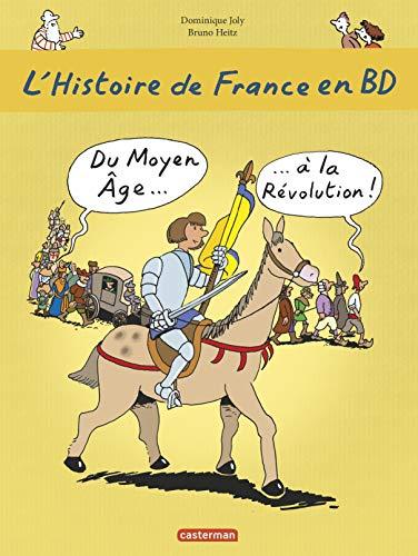9782203035751: L'histoire de France en BD, Tome 2 : Du Moyen Age à la Révolution