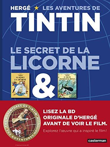 9782203047662: Les Aventures de Tintin : Le secret de la licorne & Le tr�sor de Rackham le rouge