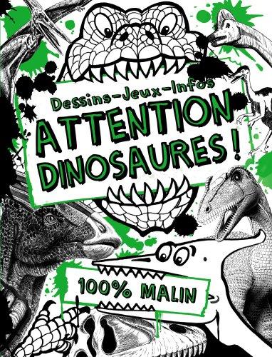 9782203051980: coloriages docu t.1 ; attention dinosaures !