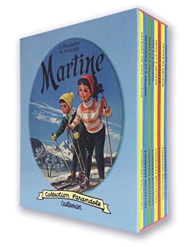9782203092174: Martine : Coffret 8 volumes : Martine fait du théâtre ; Martine à la montagne ; Martine à la ferme ; Martine à la mer ; Martine à la foire ; Martine à ... en bateau ; Martine au parc (French Edition)