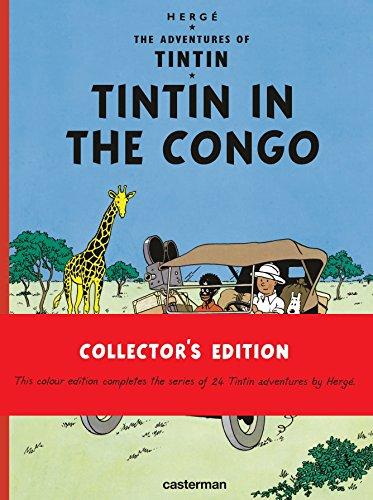 9782203096509: *gb tintin in the congo casterman (Adventures of Tin Tin)