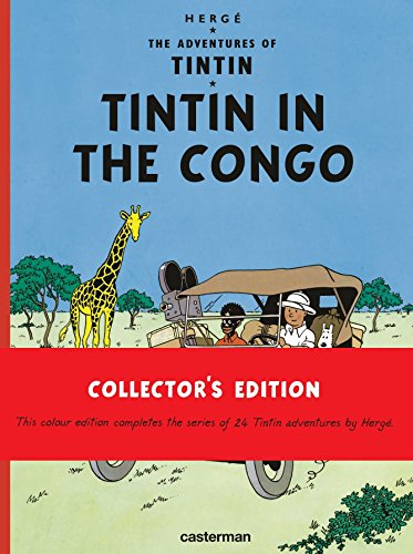 GB TINTIN IN THE CONGO CASTERMAN: HERGE