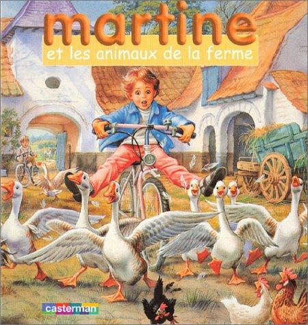 9782203106086: Martine et les Animaux de la ferme (coffret livre + jeu de cubes)