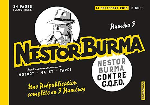 9782203109964: Nestor Burma, N° 3, 14 septembre 2016 : Nestor Burma contre C.Q.F.D.