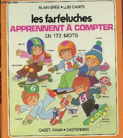 Les Farfeluches: Les Farfeluches Apprennent a Compter: Gree, A, Camps,