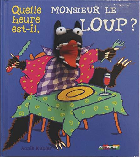 9782203138889: Quelle heure est-il, Monsieur le Loup ? (French Edition)