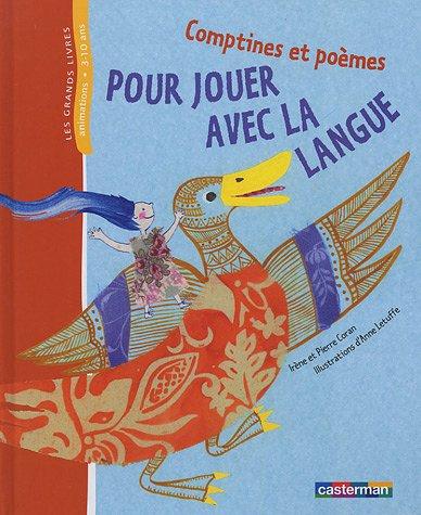 9782203145368: Comptines et poèmes pour jouer avec la langue