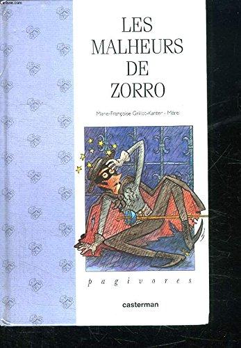 9782203175037: Les malheurs de Zorro