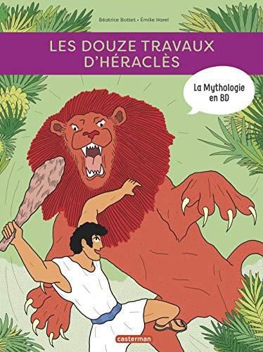 9782203196841: La mythologie en BD : Les douze travaux d'Héraclès