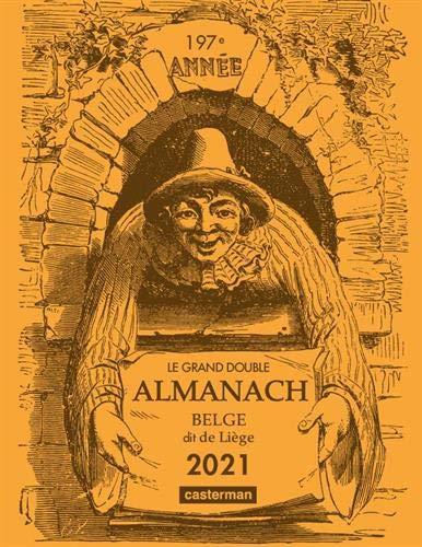 9782203208629: Le grand double almanach belge dit de Liège