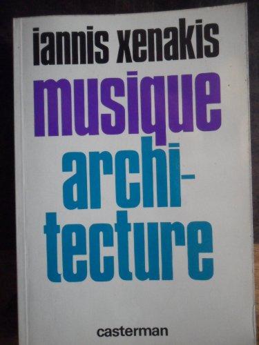 9782203231122: Musique architecture