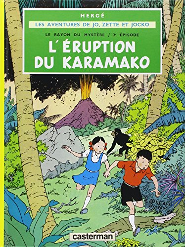 9782203311046: L' Eruption du Karamako (Aventures de Tintin) (French Edition)