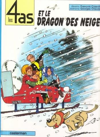 9782203315075: Les 4 as et le dragon des neiges (Les 4 as, #7)
