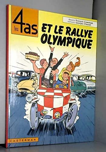 9782203315082: Les 4 as et le rallye olympique (Les 4 as, #8)