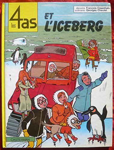 9782203315198: Les 4 as et l'iceberg (Les 4 as, #19)