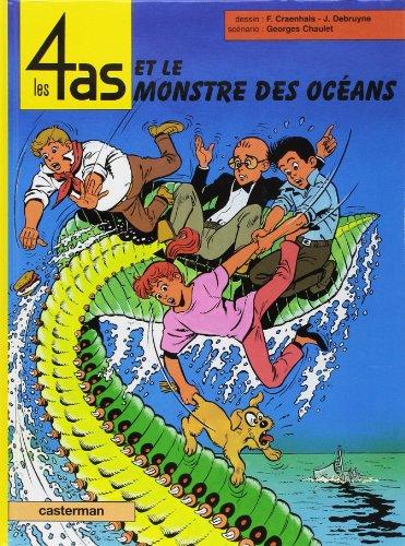 9782203315389: Les 4 as : Le monstre des océans