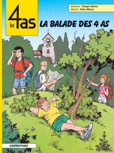 9782203315433: La balade des 4 as (Les 4 as, #43)