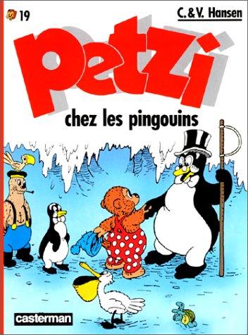 Petzi chez les pingouins Cover
