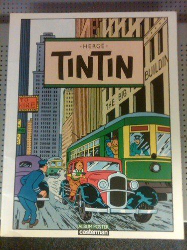 9782203350014: Tintin: Album poster (French Edition)
