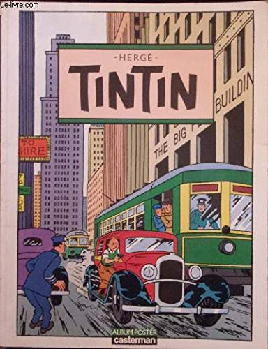 9782203350014: Tintin: Album poster (French Edition)