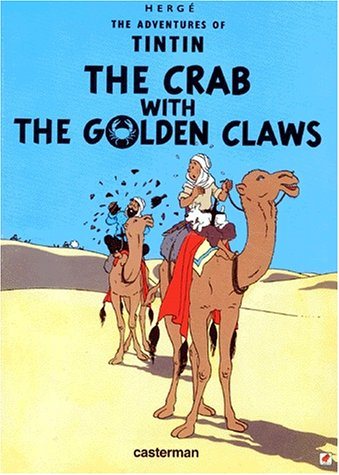 9782203403383: THE ADVENTURES OF TINTIN : THE CRAB WITH GOLDEN CLAWS