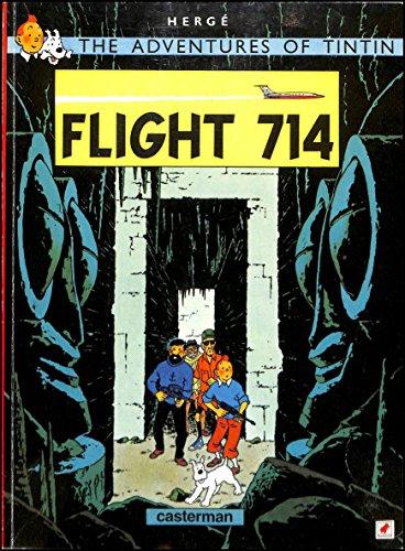 9782203403512: Flight 714: the Adventures of Tintin