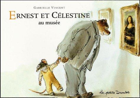 9782203525108: Ernest et Célestine au musée