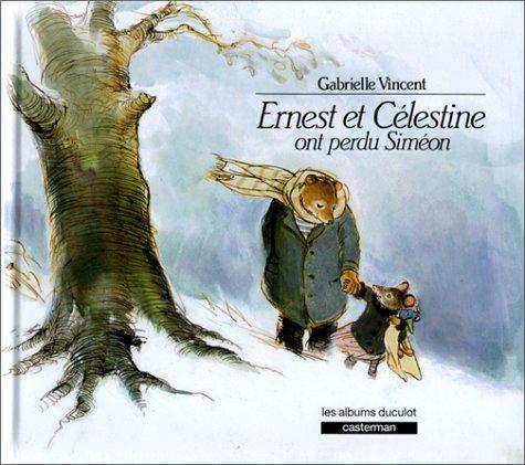 9782203550513: Ernest et C�lestine ont perdu Sim�on