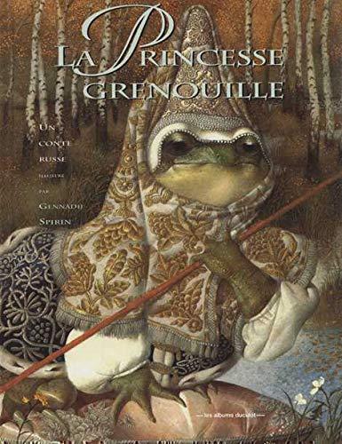 9782203553729: La princesse grenouille : Un conte russe (Les albums duculot)