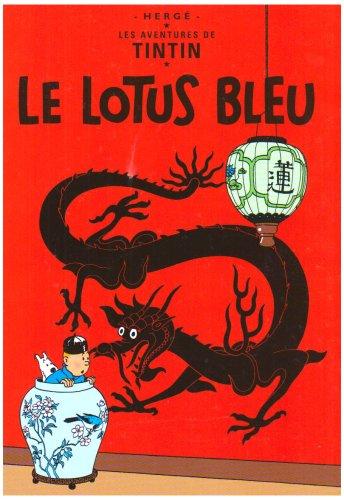9782203700642: Tintin Lotus Bleu Op Ete 2006
