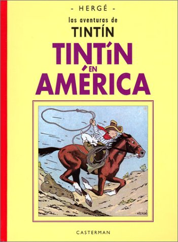 9782203752030: En America/ in America (Tintin Facsimil) (Spanish Edition)