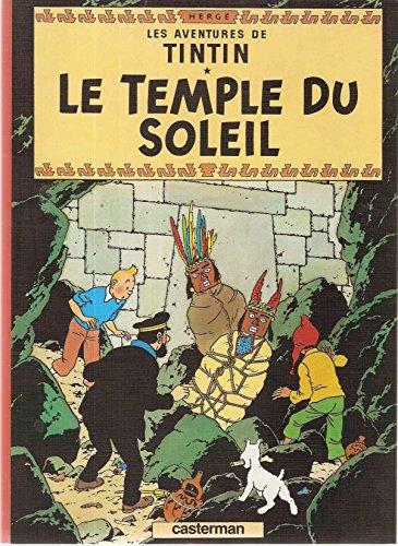 9782203994089: Tintin le temple du soleil
