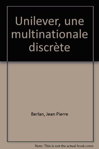 9782204011952: Unilever, une multinationale discrète (Attention)