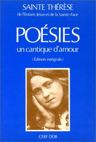 9782204013369: Un cantique d'amour : Poésies