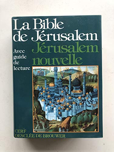 La Bible de Jérusalem, avec guide de