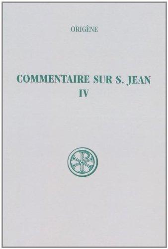 9782204018760: Commentaire sur saint Jean / ; (Sources chrétiennes) (French Edition)