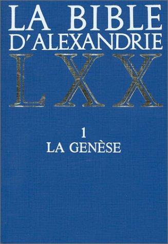 9782204025911: La Genèse (La Bible d'Alexandrie) (French Edition)