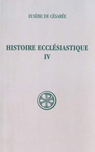 Histoire ecclésiastique, IV. Introduction par Gustave Bardy (+) Index par Pierre Pé...