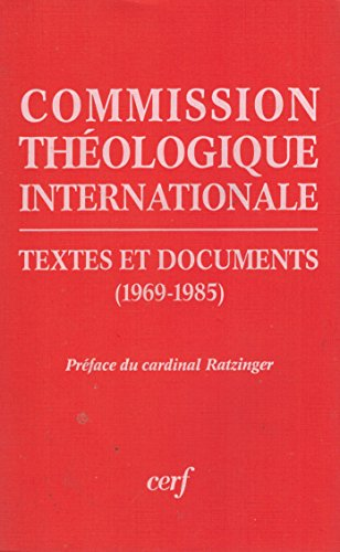 9782204027960: Commission theologique internationale, textes et documents 1969-1985 032197