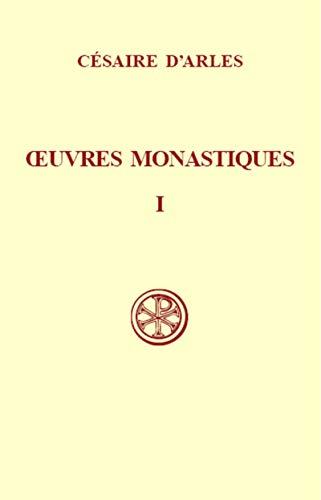 9782204030298: OEUVRES MONASTIQUES. Tome 1, Oeuvres pour les moniales, Edition bilingue français-latin (Sources Chrétiennes)