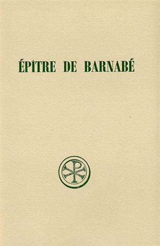 9782204034784: Ep�tre de Barnab�