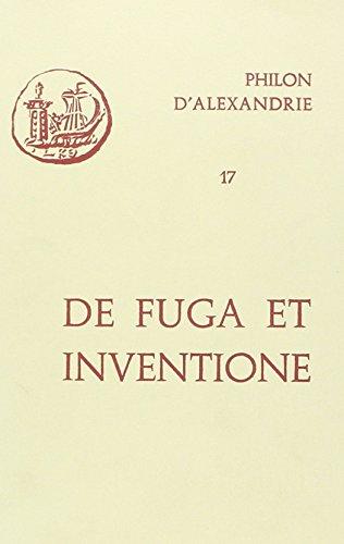 De fuga et inventione. Introduction, texte, traduction et commentaire par Esther Starobinski-Safran...